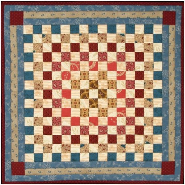 Catherine's 1800 Doll Quilt Pattern #1003