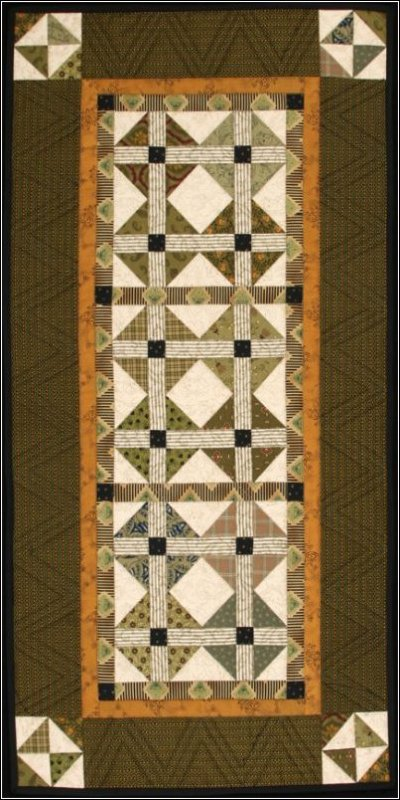 Olive's Table Runner Quilt Pattern #1007