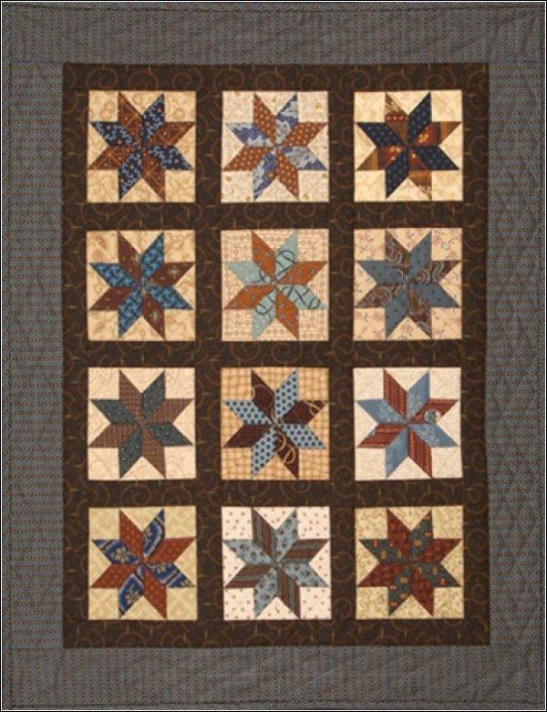 Stars Divided Pattern #1008