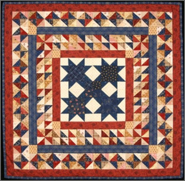 Cross Plains Star Pattern #1010