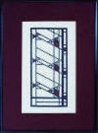 Hollyhock House Window