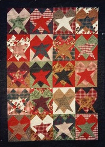 Barn Crazy About Hearts and Stars Quilt Pattern : crazy star quilt pattern - Adamdwight.com