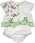 Frog Baby Outfit Project