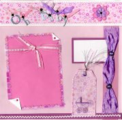 Baby Scrapbook Layout