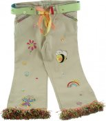 Butterfly Embellished Jeans