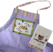 Kitchen Apron and Dishtowel