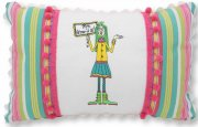 Miss Know-it All Pillow