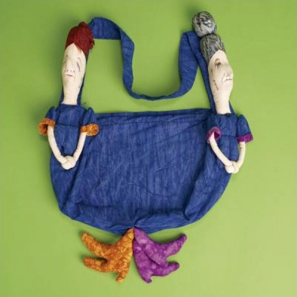Repressed Bag And Upside Down Doll