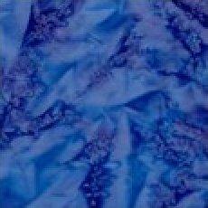 Brilliant Blue Batik