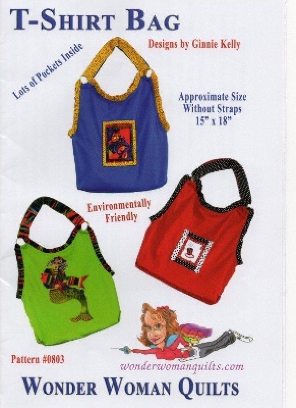 T-Shirt Tote Bag Pattern