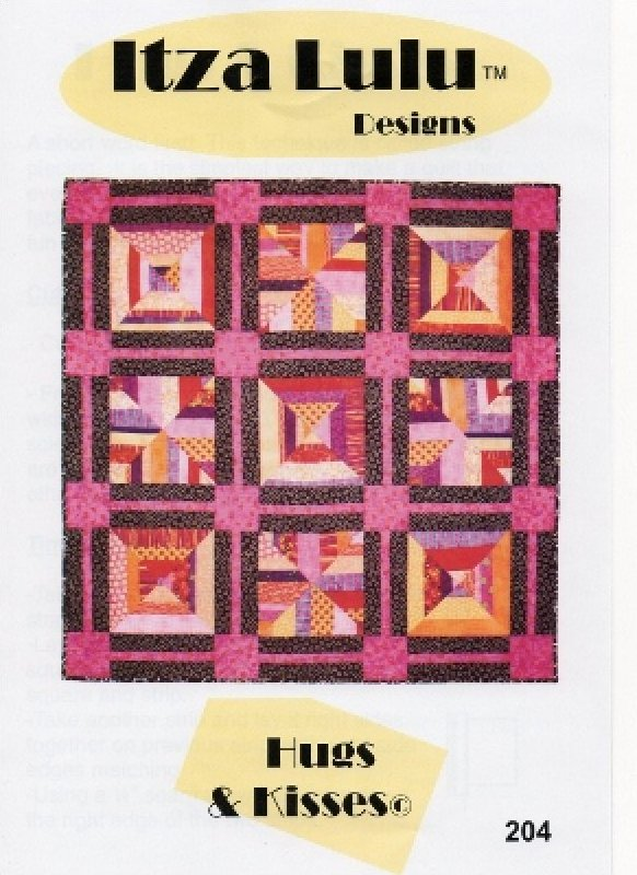 Hugs & Kisses Lap Quilt