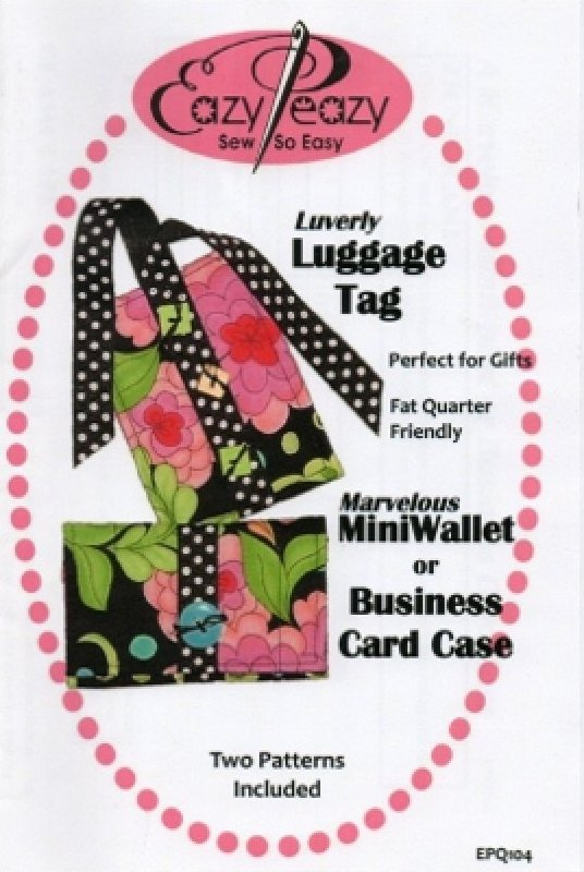 Mini Wallet and Luggage Tag