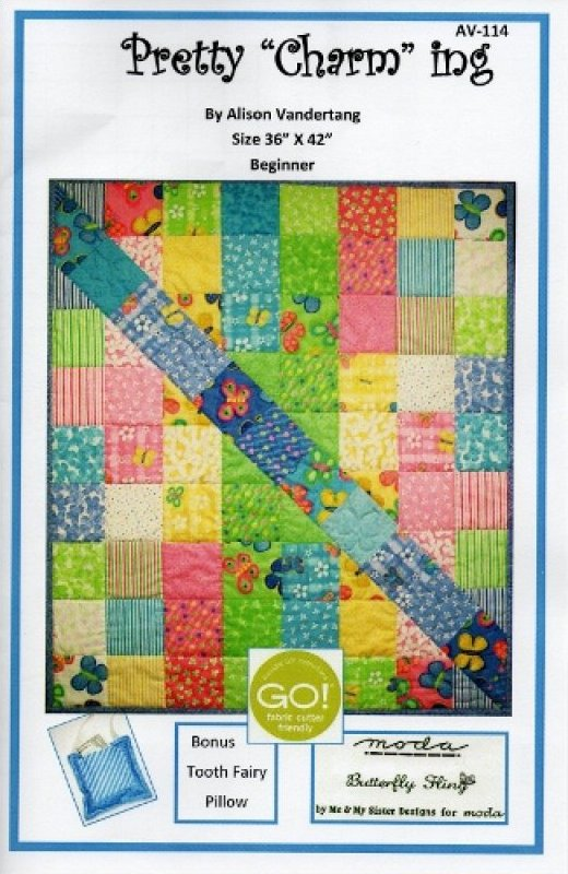 Pretty Charming Quilt Pattern