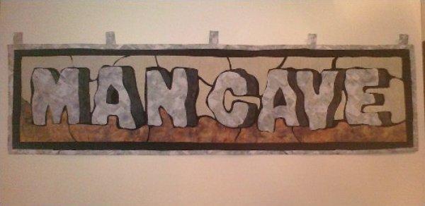 Man Cave Wall Hanging Kit