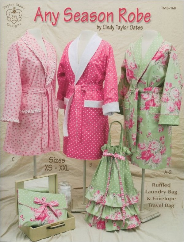 Any Season Robe by Cindy Taylor Oates