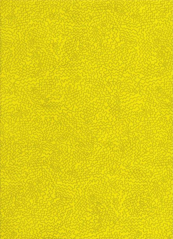 Owl Chartreuse Maze