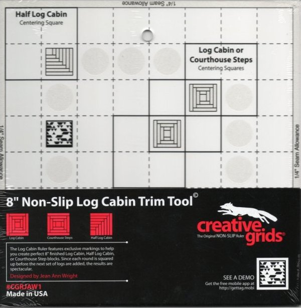 Creative Grids (R) Log Cabin Trim Tool (c)