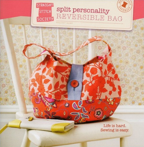Split Personality Reversible Bag Pattern