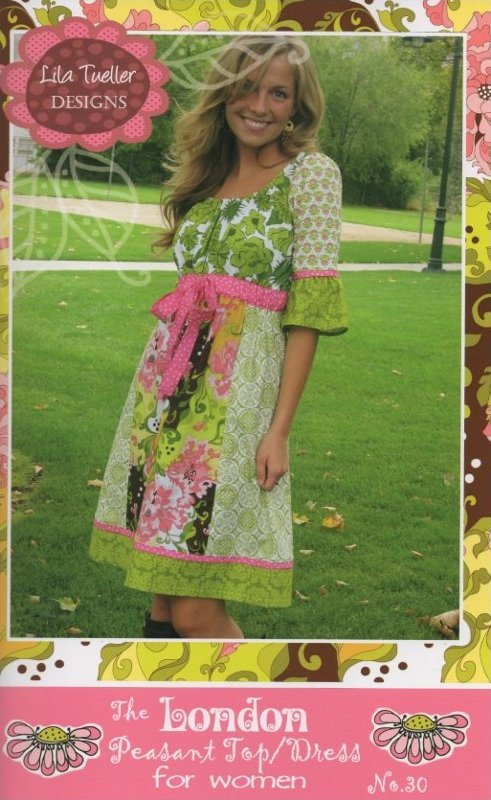 The London Peasant Top/Dress Pattern