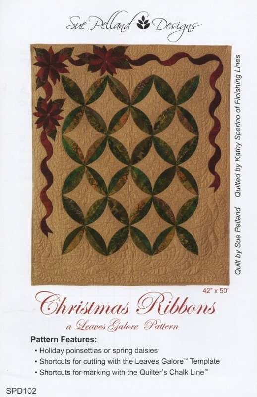 Christmas Ribbons Quilt Pattern