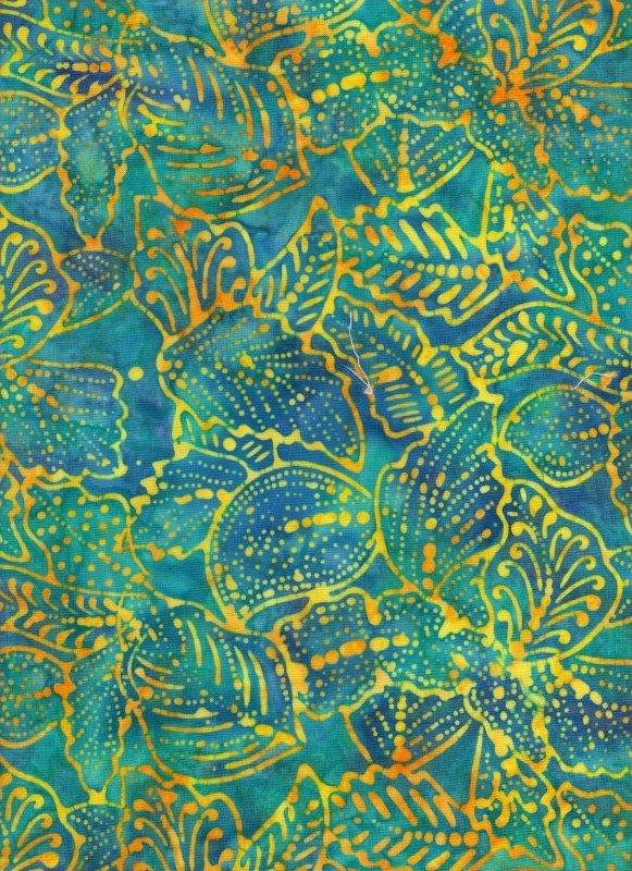 Tonga Aquamarine and Sunshine