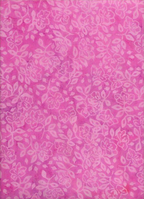 Tonga Pink Floral Batik