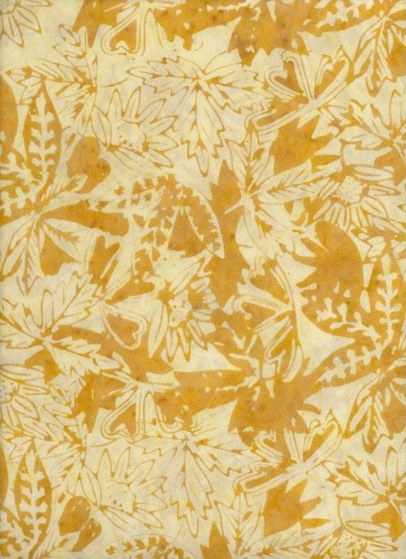 Tonga Butter Branches Batik