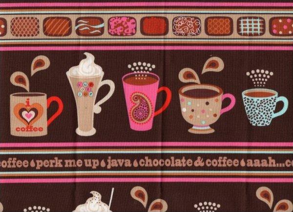 Perk Me Up Coffee & Chocolate Stripe