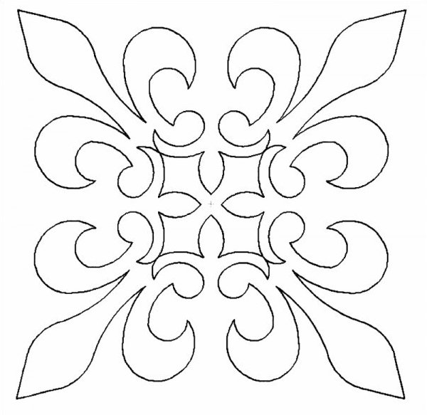 French Lily Block 12