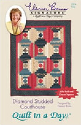 Eleanor Burns Signature Pattern: Diamond Studded Courthouse