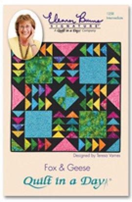 Eleanor Burns Signature Pattern: Fox & Geese Pattern