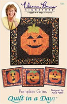 Eleanor Burns Signature Pattern: Pumpkin Grins
