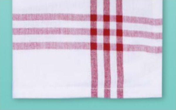 # 3030 Red Stripe Towel