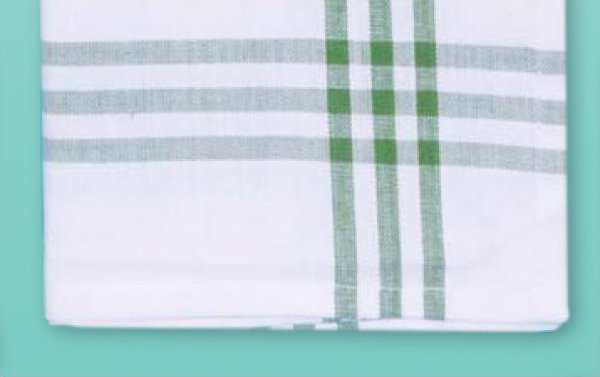 # 3031 Green Stripe Towel
