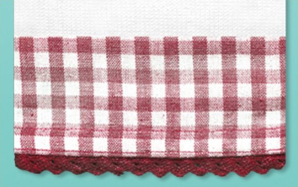 # 3032 Red Gingham Towel