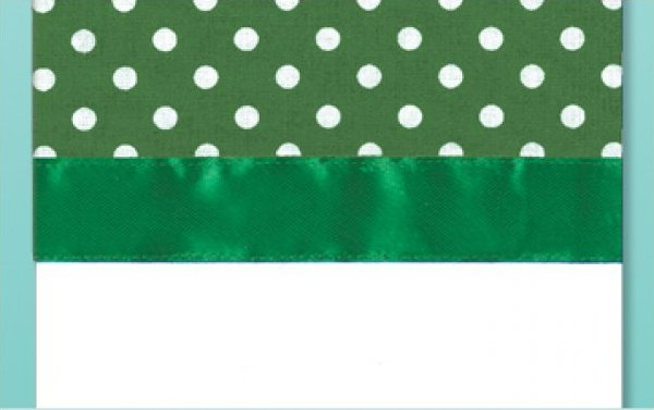 # 3040 Polka Dot Towel - Green
