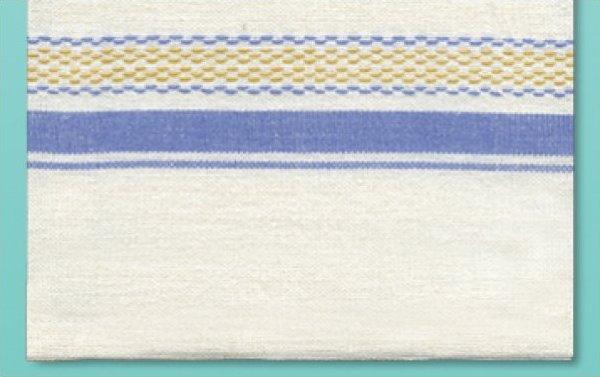 # 3035 Homespun Towel - Blue
