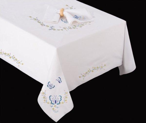 # T201477-70 Butterflies Tablecloth