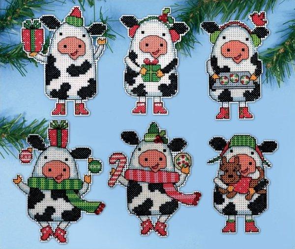 # 1695 Christmas Cows