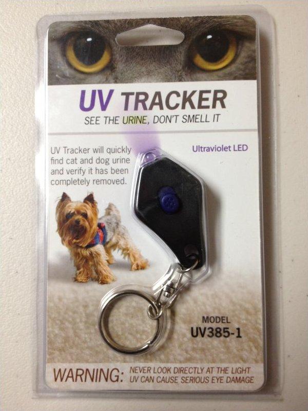 The UV LED Keychain Light
