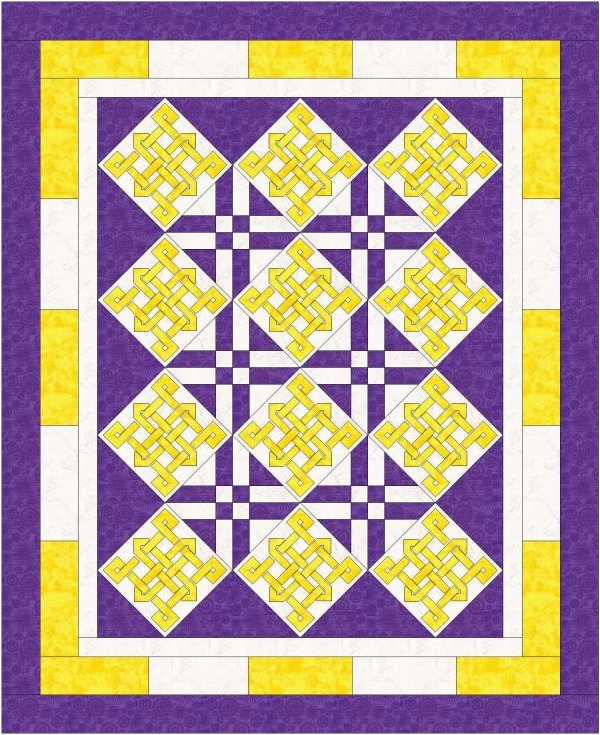 Karma Simplicity Five - Celtic knot by Linda Barrett
