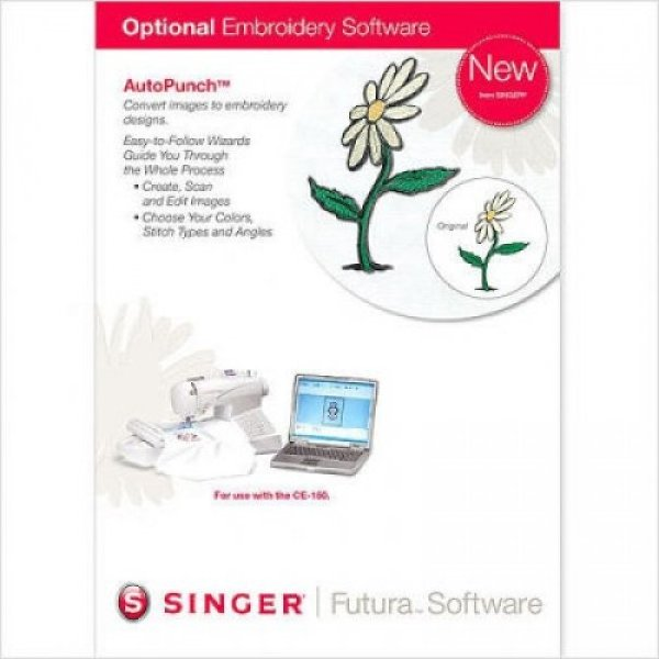 Singer Futura Cross Stitch Software