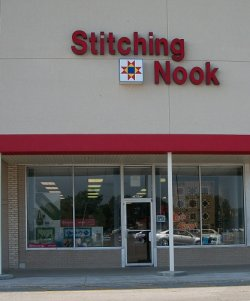 Stitching Nook Exterior - Fabric Store