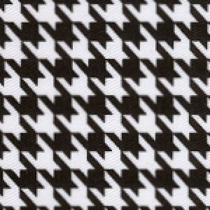 Black & White Houndstooth Twill - #752 - Fabric Finders