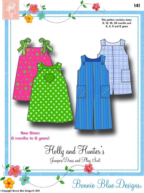 Holly and Hunter's  #141 - Jumper/Dress and Play Suits