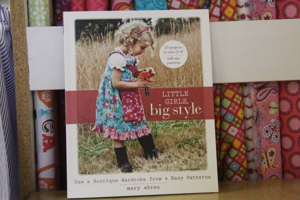 Little Girls Big Style book by Mary Abreu (includes sizes 2 - 6)