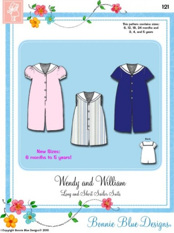 Wendy & William #121 - Long and Short Sailor Suits
