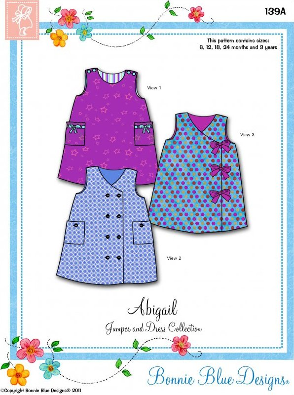 Abigail - #139A - Easy Jumper/Dress Collection