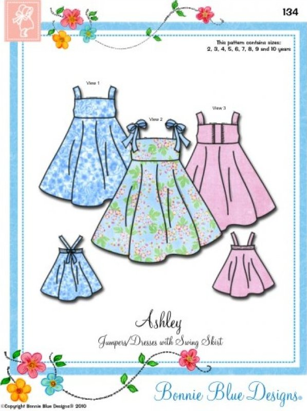 Bonnie Blue Designs Sewing Patterns