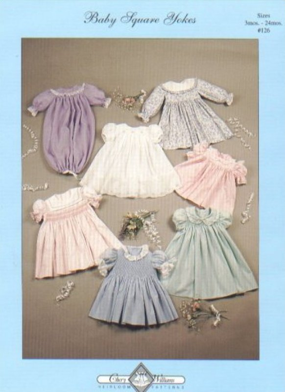 Baby Square Yoke Dresses